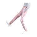 Womens Stylish Side Stripe Cotton Sports Pants