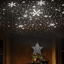 Christmas Tree Decorative Top Star Lighting