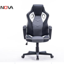 Modern swivel custom gaming middle end leather chair
