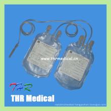 Economical Hospital Disposable Plastic Double Blood Bag
