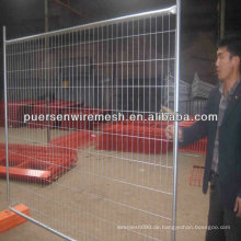 Vorübergehender Zaun Metallbau Barrier Manufacturing