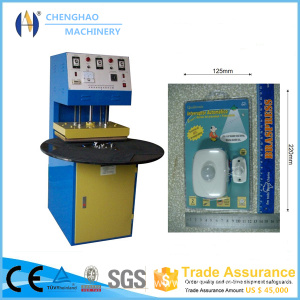 Blister Packing Machine For Memory Cards