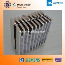 Professionelle benutzerdefinierte ROHS N35 Neodym lange dünne Magnete
