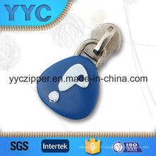 Moule injectable Cute Design Custom Zipper Slider for Kids