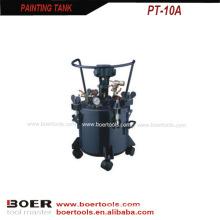 Pneumatischer Typ Paint Tank mit S / S Innenbehälter 10L 20L 40L 60L