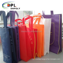 Dapoly promotional gift tote carry modern fashionable shopping non-woven bag