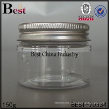 ясный пластичный опарник для кухни/косметический, 150 г пластиковую банку, дешевые пластиковые бутылки в Китае