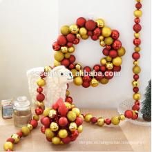 Atrrcative decoraciones al por mayor de Navidad guirnalda