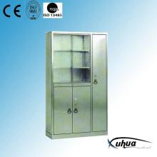 Stainless Steel Hospital Medical Appliance Cupboard (U-14)
