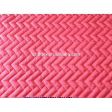 Taffata de nylon acolchoado para casacos, tela do forro do casaco, dobro da tela rosto acolchoado
