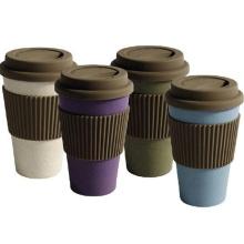 (BC-C1041) Copo de café não tóxico da fibra de bambu do projeto elegante