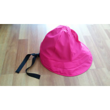 Pink PU Raincoat for Adult