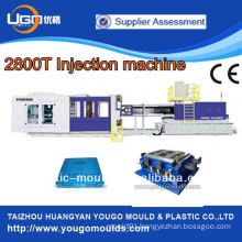 2800T big injection moulding machine for plastic pallet making and manufacturing