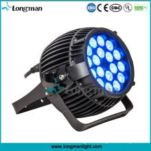 Hochwertige wasserdichte Garten-Lichter im Freien 180W RGBW DMX LED