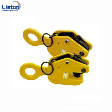 1T-10T PDQ Typ แนวนอนแผ่นเหล็กยก clamps