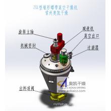 Kegelförmiger Helical Ribbon Vacuum Dryer