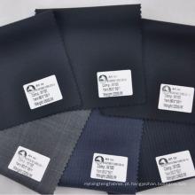 Coleção de primavera / verão 2014 design italiano penteados lã lã adequando tecido