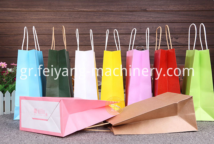 colorful paper bag kraft1