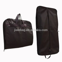 Breathable Protect silk-screen printing non woven garment bags wholesale