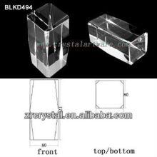 K9 En blanco de cristal para BLKD494 de grabado del Laser 3D