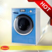 Máquina de lavar roupa e secador doméstico casa