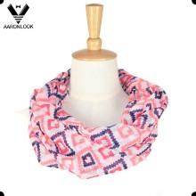 Alta calidad de diseño personalizado poliester cuello bufanda