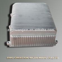 Haute qualité Convertisseur de fréquence moteur radiateur moulage sous pression aluminium adc12