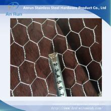 Maillage galvanisé électro-aiguisé à torsion hexagonale