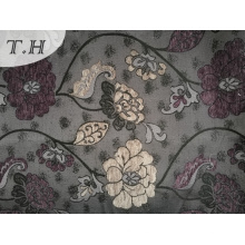 2016 Elegant Lotus Pattern Chenille Jacquard Cloth (FTH32115)