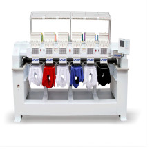 9/12/15 Needles Embroidery Machine 6 Heads embroidery machine with Font Software