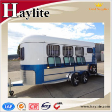 Gooseneck Horse Trailer 6-15 Horse angle load with heavy duty drawbar Gooseneck Horse Trailer 6-15 Horse angle load with heavy duty drawbar