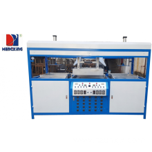 Semi auto double-head blister vacuum forming machine