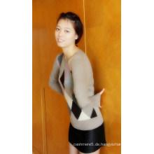 Damen Cashmere Intersia Pullover (CIP13002L)
