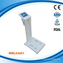 MSLCA01W Analyseur de santé corporelle et analyse de graisse corporelle et analyse de composition corporelle