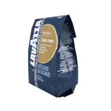 100% Food Packaging Coffee Tea Flat Bottom Bags Resealable Food Bag Plastic Packaging Bag Eco-Friendly Coffee Packaging with Valve