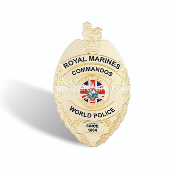 Metalen emblemen van hoge kwaliteit Security Officer Badges
