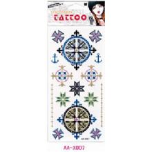 Татуировки макияж для девочек Подгонянные блеск порошок tempoary татуировки наклейки боди с конкурентоспособной ценой