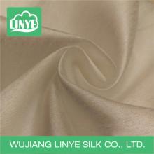 Tecido de seda de poliéster imitado para o vestido