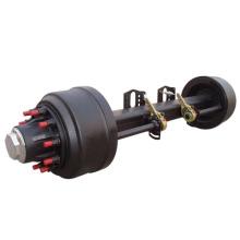 American  outboard axle for trailer or semi-trailer