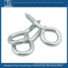 Galvanized Steel Hook Eye Screw