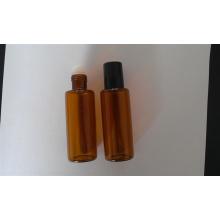 Viales de vidrio Tubular Mini de color ámbar de 10ml para el embalaje cosmético