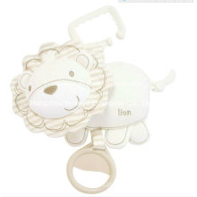 Fábrica de tecidos orgânicos de tecido Stuffed bebê musical Hang Toy