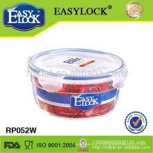 grand récipient de stockage de nourriture en plastique de pp avec le couvercle