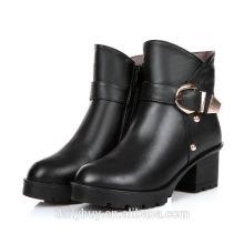 China fábrica de sapatos curtos preço baixo feminino botas para venda