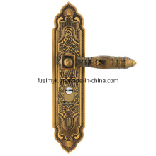 La última manija de puerta de lujo del latón del diseño