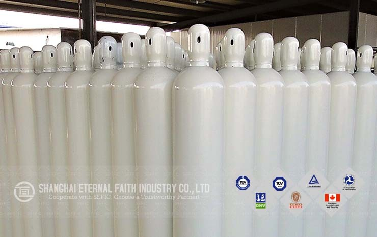 Different Sizes And Colors Oxygen Bottle 40L Oxygen Acetylene Cylinders For Welding