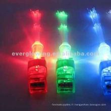 2015 nouveau style vente chaude LED lumière magique jouet LED lumière du doigt en gros