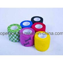 Selbstkohäsive Bandage mit verschiedenen Farben
