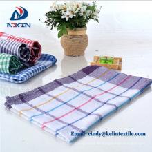La cocina de la fábrica de China utiliza la toalla de té 100% de algodón / la toalla de plato / el paño del plato