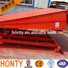 Stationary hydraulic dock ramp/loading dock leveler